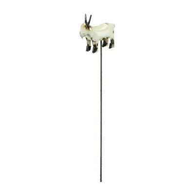 Rustic Arrow Goat On Stake Figurine