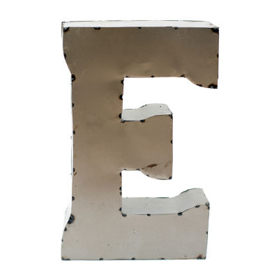"Rustic Arrow Letter E 14"" Letter Block"""