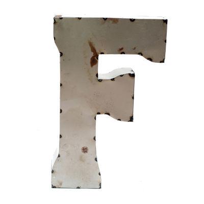 "Rustic Arrow Letter F 14"" Letter Block"""
