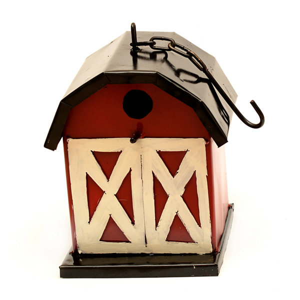 Rustic Arrow Barn Birdhouse Figurine