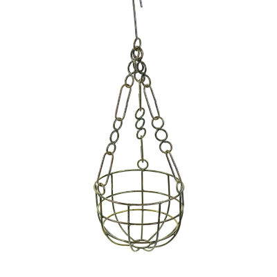 Rustic Arrow Hanging With Chain Planter