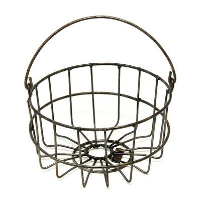 Rustic Arrow Mini Egg Basket Planter