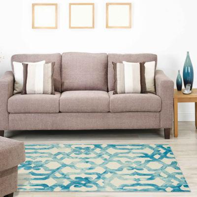 Room Envy Annette Hand Tufted Rectangular Indoor Rugs
