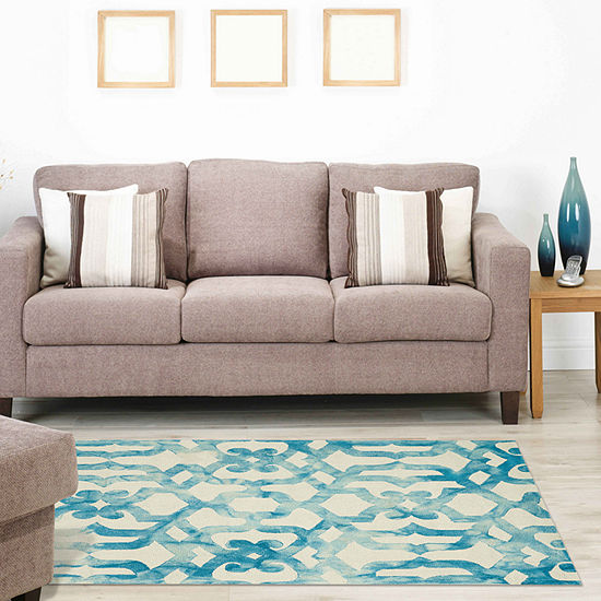 Weave And Wander Annette Hand Tufted Rectangular Indoor Rugs