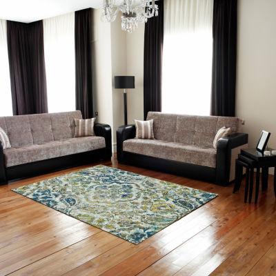 Room Envy Omari Petra Rectangular Indoor Accent Rug