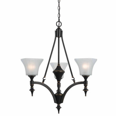 "Invogue Lighting 29"" Tall Iron Chandelier inDark Bronze Finish"