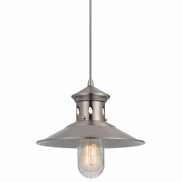 "Wooten Heights 72"" height Pendant Set in Brushed Steel"