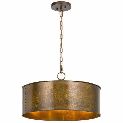 Invogue Lighting 60Wx3 Rochefort Metal Light Chandelier