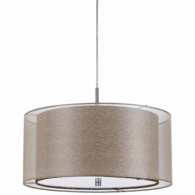 """Wooten Heights 8.25"""" Inch Tall Pendant Fixture in Clear"""