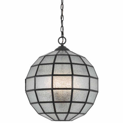 """Wooten Heights 16"""" Inch Tall Glass Chandelier in Crystal Finish"""