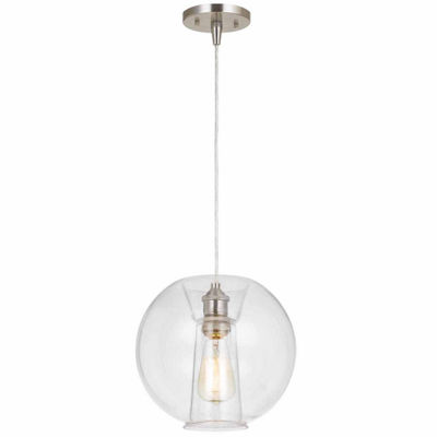 "Wooten Heights 8"" Height Paper Pendant in Kraft Finish"