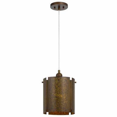 Wooten Heights 60W Rochefort metal single light pendant