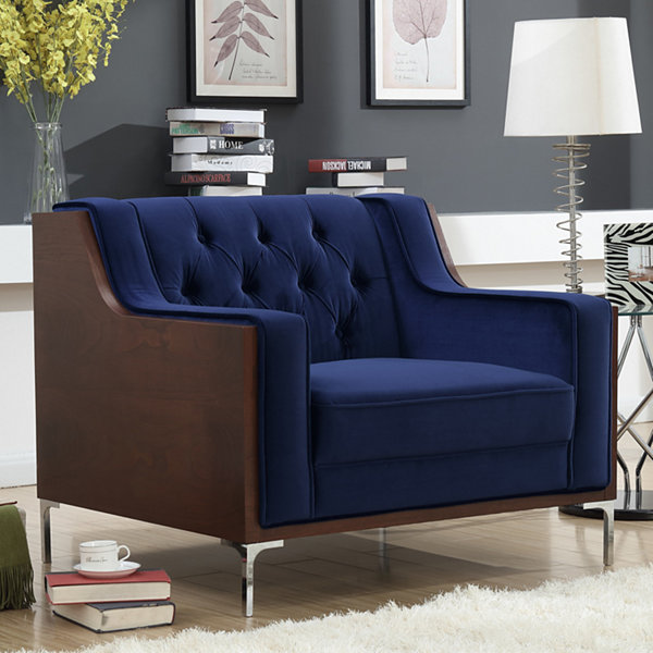 Clark Tufted Club Chair