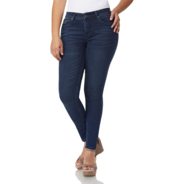 a.n.a Angel Jeans 362 Sculpt Skinny With Elastic Waistband Modern Fit Jean