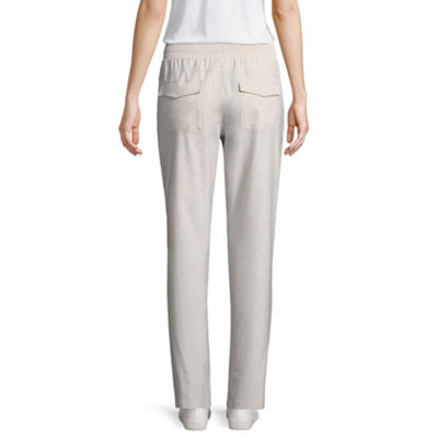 St. John's Bay Active Womens Mid Rise Pull-On Pants