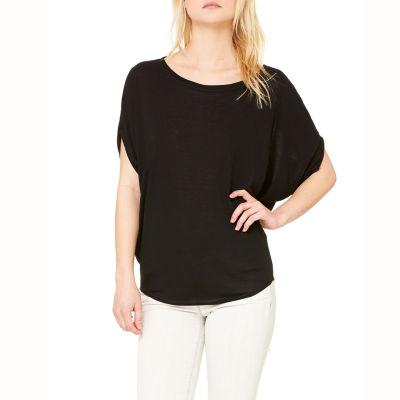 Bella Women's Circle Flowy Raglan T-shirt