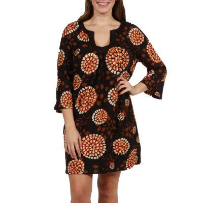 24/7 Comfort Apparel Brandy Luxury Sweater Knit Dress - Plus
