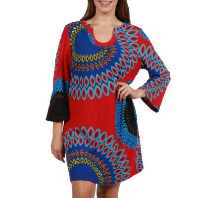 24/7 Comfort Apparel Nina Luxury Sweater Knit Tunic Top - Plus