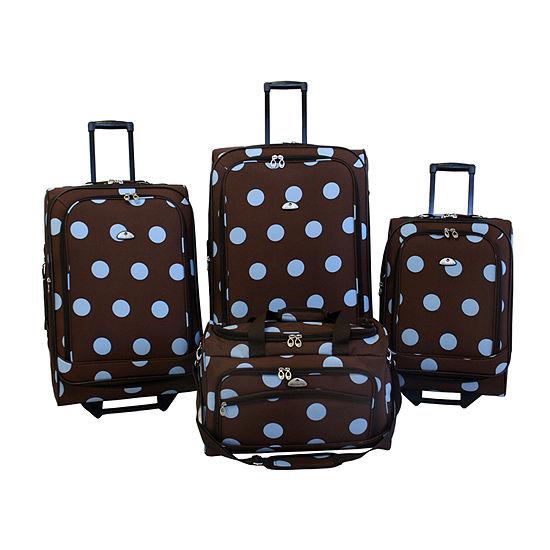 Grande Dots 4 Piece Luggage Set