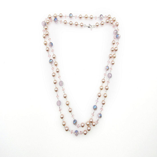 Vieste Rosa Womens Beaded Necklace