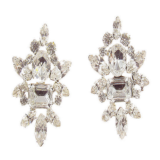 Vieste Rosa 1 1/4 Inch Stud Earrings