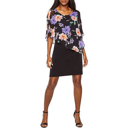Alyx Popover Floral Sheath Dress
