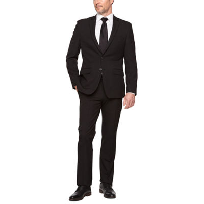 Van Heusen Black Slim FIt Stretch Suit Separates