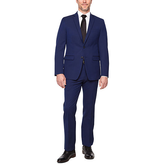 Van Heusen Flex Navy Slim Fit Suit Separates