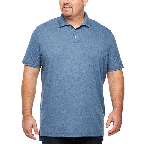 4a7566618de8 The Foundry Big & Tall Supply Co. Mens Short Sleeve Polo Shirt Big and Tall  - JCPenney