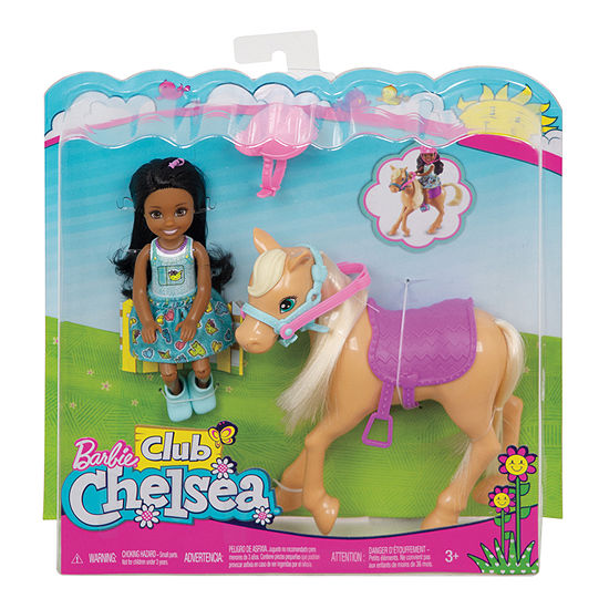Barbie Club Chelsea with Pony