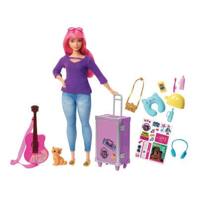 Barbie Daisy Travel Doll Playset