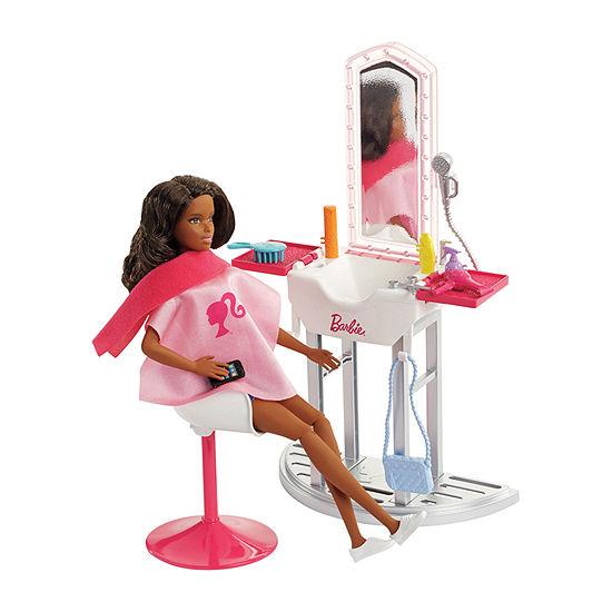 Barbie Doll & Salon Playset (Aa)