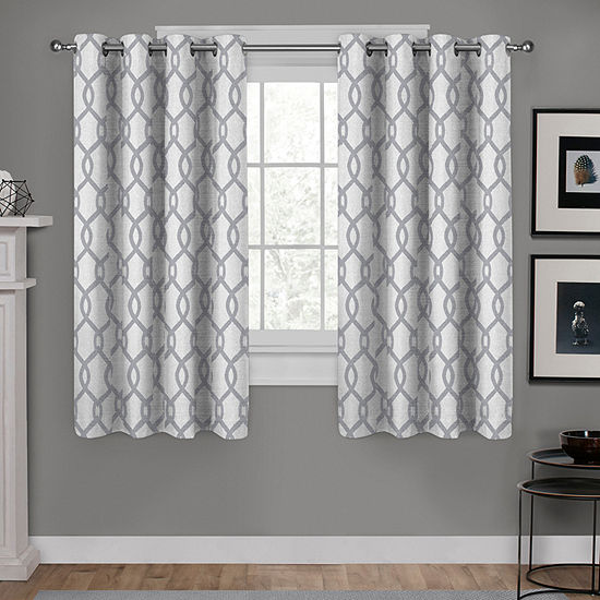 Kochi 2-Pack Room Darkening Grommet-Top Curtain Panel