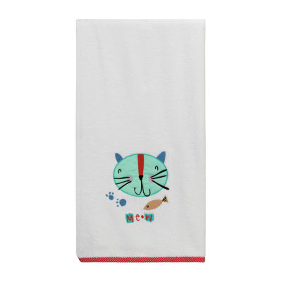 Kitty Animal Print Bath Towel