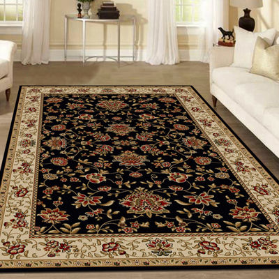 Como Terry Traditional Oriental Area Rug