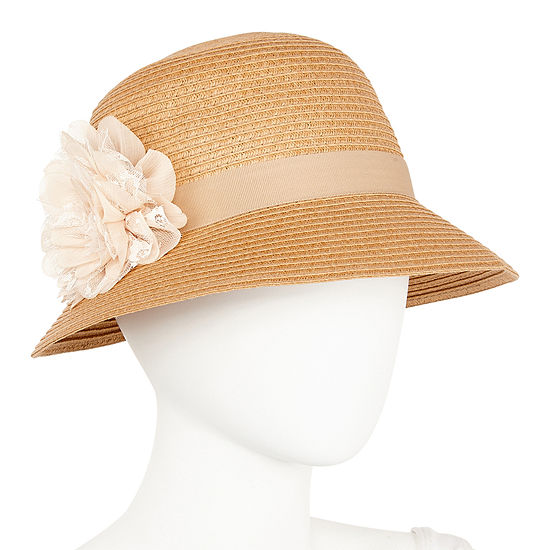 August Hat Co. Inc. Lace Flower Cloche Hat