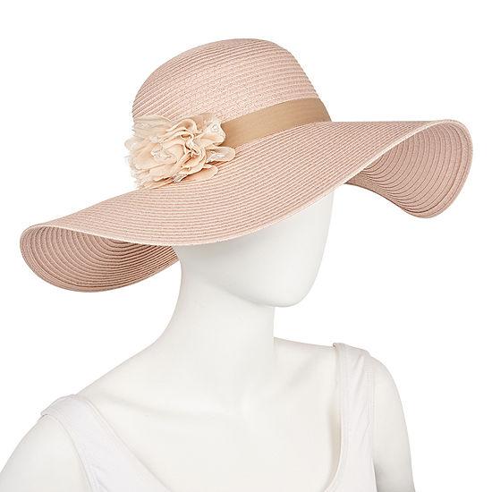 August Hat Co. Inc. Lace Flower Floppy Hat