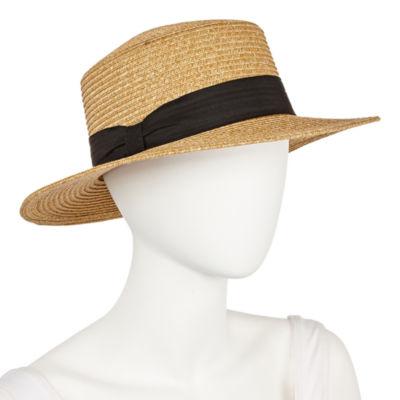 Scala Tie Panama Hat