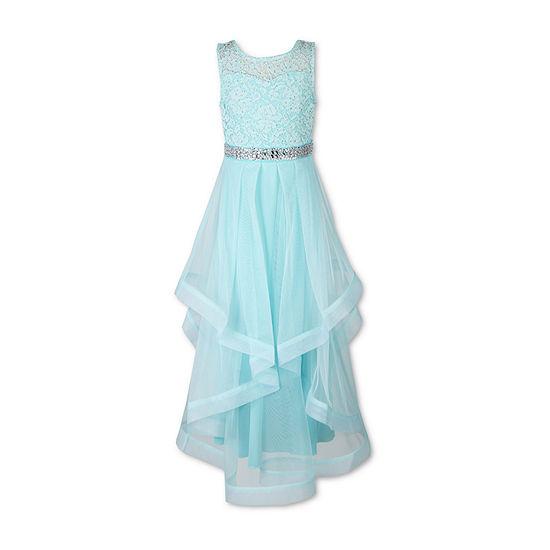 Speechless Embellished Sleeveless Party Dress - Big Kid Girls