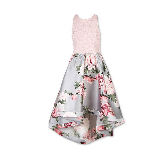 Speechless Embellished Sleeveless Maxi Dress Big Kid Girls