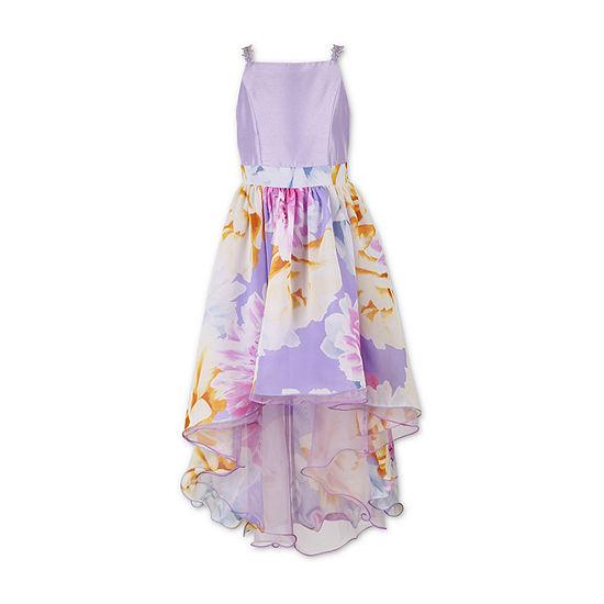 Speechless Embellished Sleeveless Floral Maxi Dress - Big Kid Girls