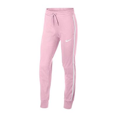 Nike Cinched Jersey Pant - Big Kid Girls 7-16