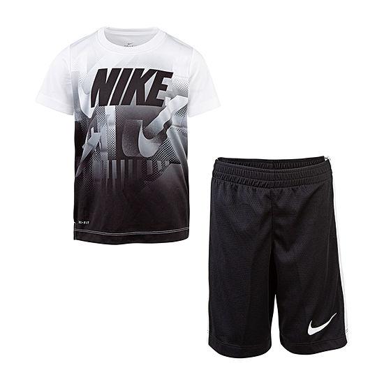 ce7a1ed1d Nike 2-pc. Short Set Boys - JCPenney