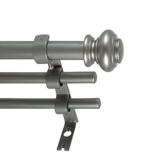 Decopolitan Urn Triple Curtain Rod
