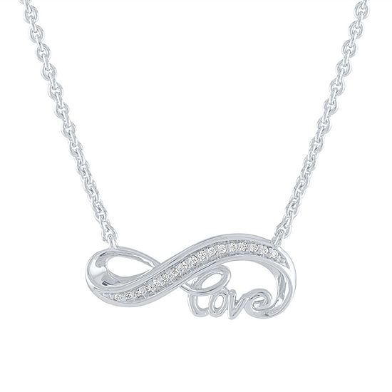 """Blank Slate"" Sterling Silver 18 Inch Cable Chain Necklace"
