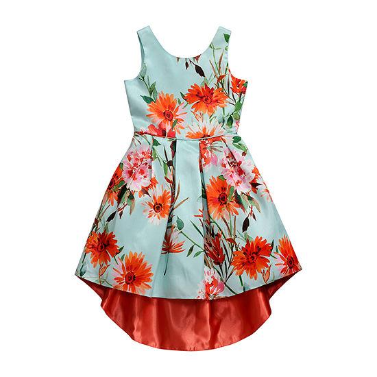 Emily West Girls Sleeveless Party Dress - Preschool / Big Kid