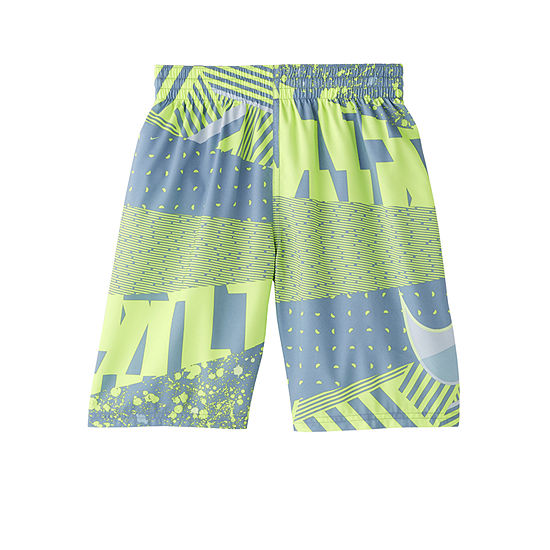 Nike Boys Logo Swim Trunks Big Kid