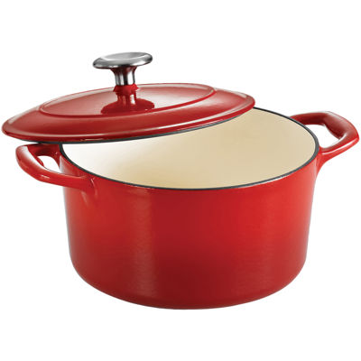 Tramontina® Gourmet 3½-qt. Enameled Cast Iron Covered Round Dutch Oven