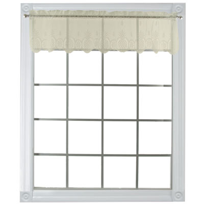 Heritage Lace® Welcome Sheer Rod-Pocket Valance