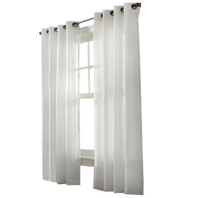 Marlow Stripe Grommet-Top Window Panel